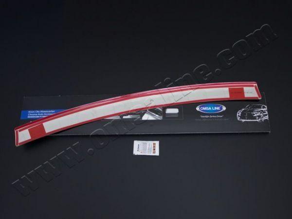 Накладка на задний бампер NISSAN Juke F15 (2010-2014)