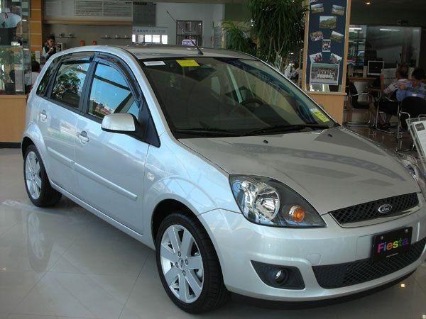 Ветровики FORD Fiesta Mk7 (2008-) 5D Hatchback HIC