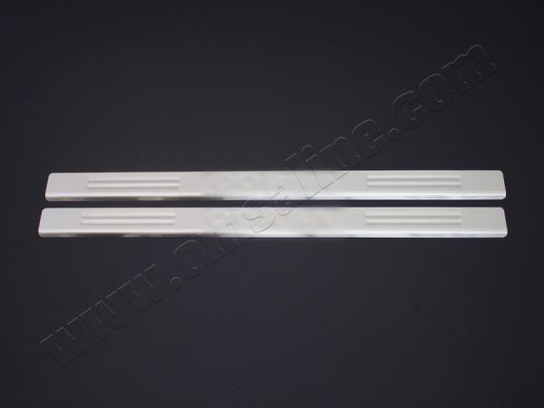 Хром накладки на пороги OPEL Corsa B (93-00)