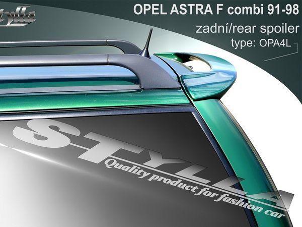 Спойлер над стеклом OPEL Astra F (91-98) Combi