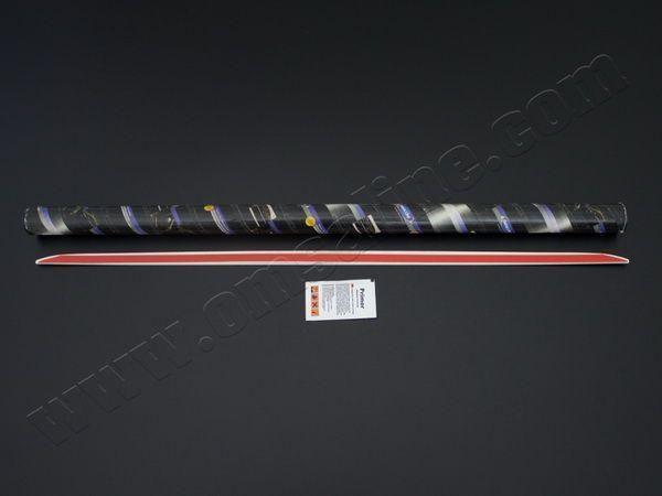 Хром на кромку багажник PEUGEOT 207 5D Hatchback