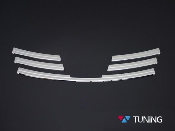 Хром накладки на решётку радиатора RENAULT Trafic III (2014-) - фото #6