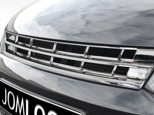 Решётка радиатора VW Polo Mk5 6R полностью хром
