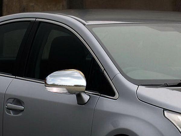 Хром накладки на зеркала TOYOTA Avensis III T270 (2009-)