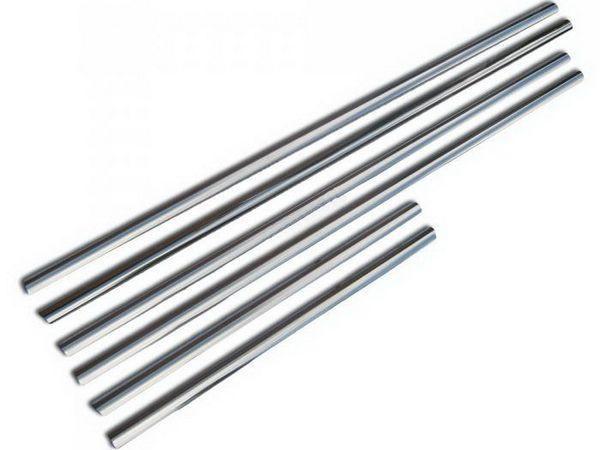 Хром нижние молдинги стёкол TOYOTA LC J200 (07-15)