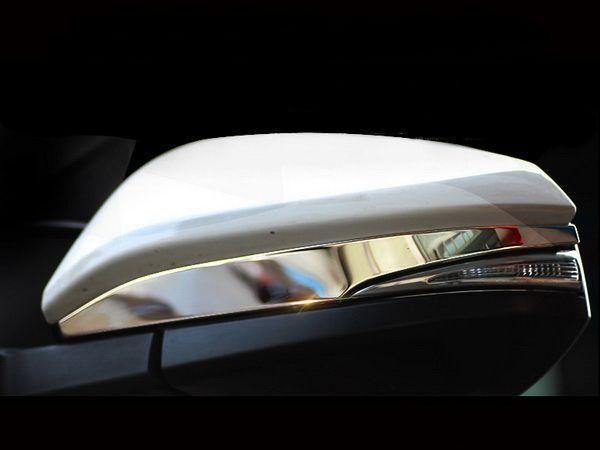 Хром накладки на зеркала TOYOTA Rav4 IV (2013-) - OMSA