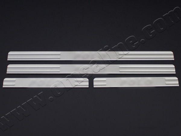 Хром накладки на дверные пороги VW Polo Mk4 (01-09)