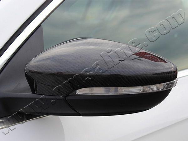 Карбоновые накладки на зеркала VW Eos (11-16) рестайлинг