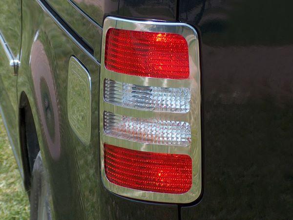 Хром накладки на стопы VW Caddy (2004-)