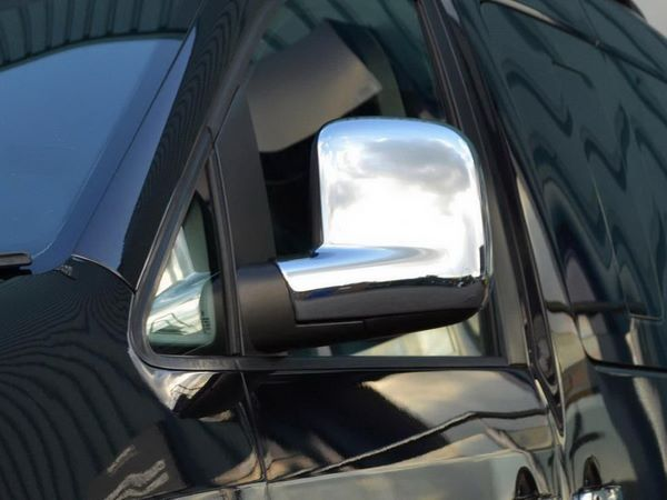Хром накладки на зеркала VW Caddy III (2004-)