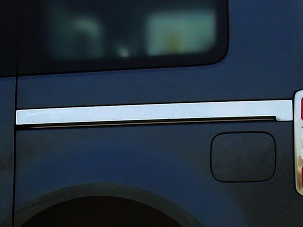 Хром молдинг под сдвижную дверь VW Caddy Life