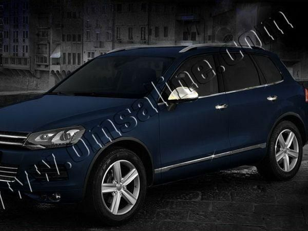 Хром нижние молдинги стёкол VW Touareg II (2011-)