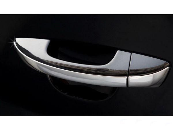 Плоские хром накладки на ручки VW Passat B7 (2011-2015) 1