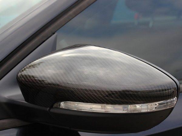 Карбоновые накладки на зеркала VW Passat B7