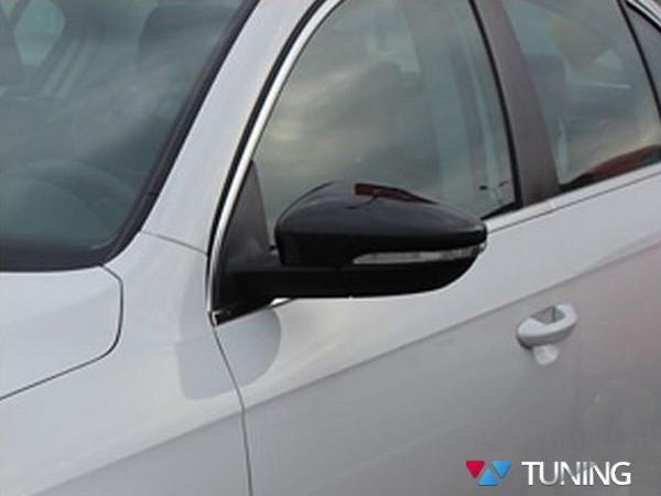 Карбоновые накладки на зеркала VW Jetta A6 Sedan