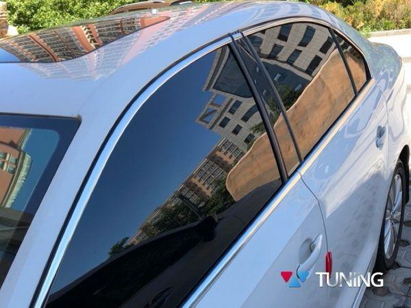 Хром верхняя окантовка стёкол VW Jetta A6 Sedan