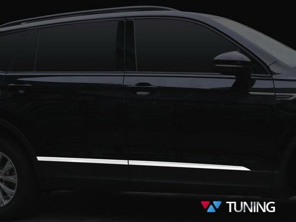 Хром молдинги на двери VW Tiguan II (2016-) 1