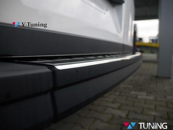 Защитная накладка на задний бампер VW Crafter II (2017-) - OMSA 3