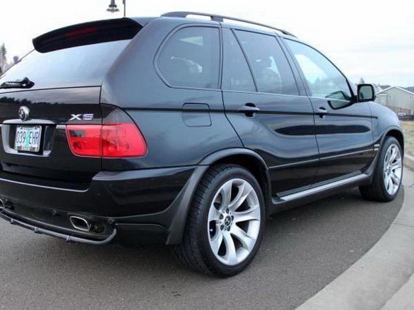 Расширители арок BMW X5 E53 (2000-2006)