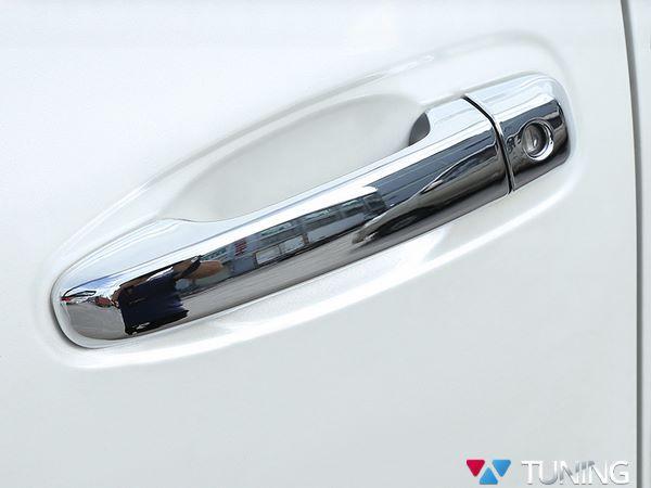 Хром накладки на ручки TOYOTA Prado 150 - полные 1