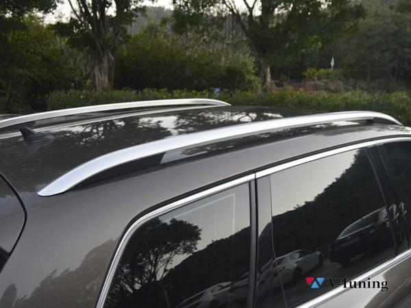 Рейлинги VW Touareg II (2010-2018) - оригинал стиль 7
