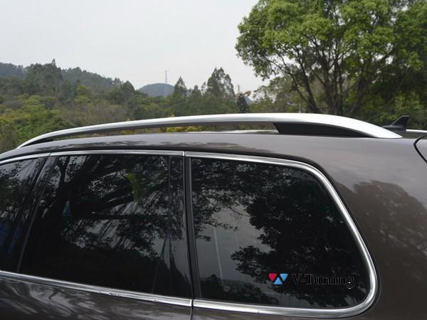 Рейлинги VW Touareg II (2010-2018) - оригинал стиль 8