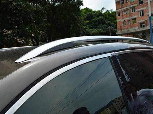 Рейлинги VW Touareg II (2010-2018) - оригинал стиль 5