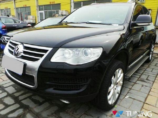 Пороги боковые VW Touareg I (2002-2010) OEM
