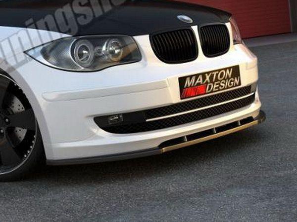 Накладка на передний бампер BMW 1 E81 / E87 (2007-)