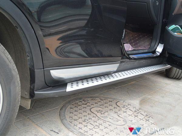 Оригинальные подножки BMW X4 F26 (2014-) точками