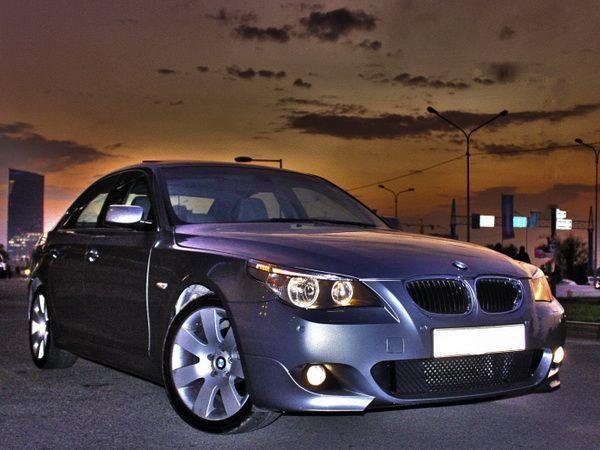 """Бампер передний BMW 5 E60 / E61 (03-10) """"M-пакет"""""""