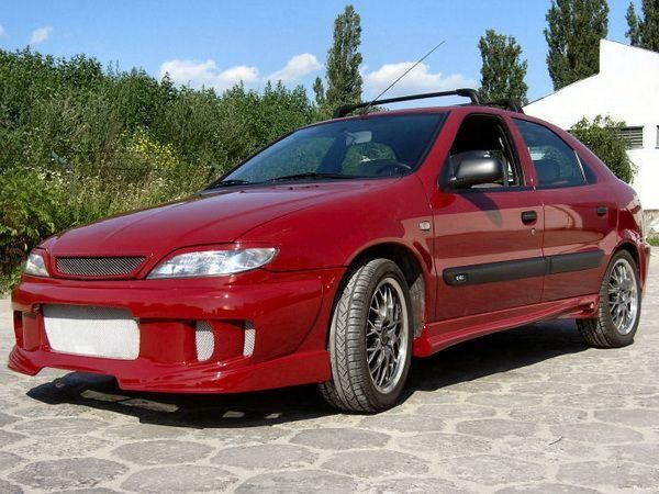 Реснички на фары CITROEN Xsara (1997-2000)