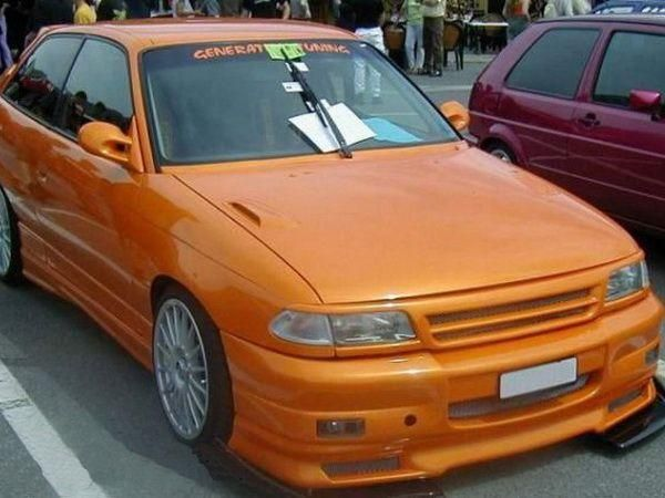 Решётка под покраску OPAL Astra F (91-)