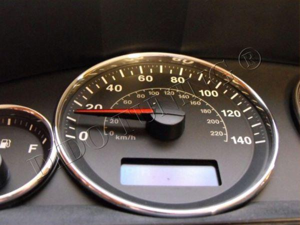 Кольца в щиток приборов JEEP Grand Cherokee WK (2004-2010)