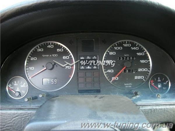 Кольца в щиток приборов AUDI 80 B3/B4 (1986-1995)