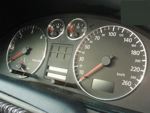 Кольца в щиток приборов AUDI A4 B5 (1994-2000) 4 кольца