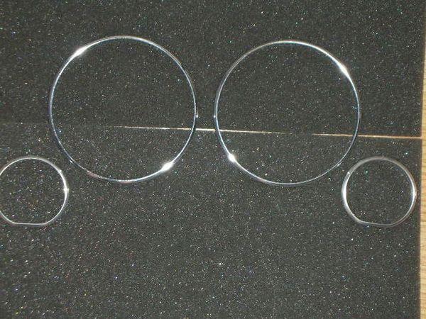 Кольца в щиток приборов BMW E32 / E34