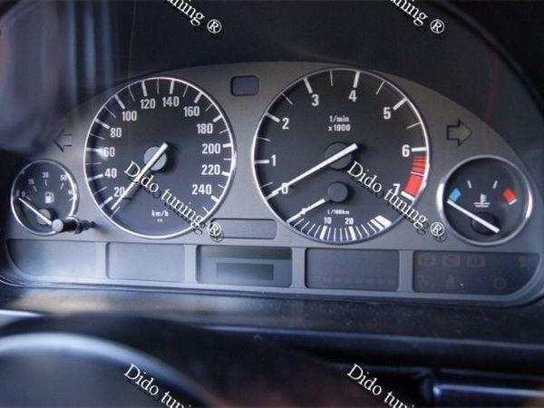 кольца в щиток приборов Bmw E39 E38 V Tuning