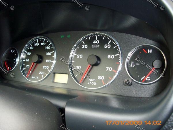 Кольца в щиток приборов FIAT Brava (1995-2001)