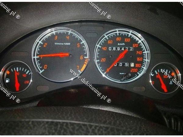 Кольца в щиток приборов с тахометром OPEL Corsa B (93-00)