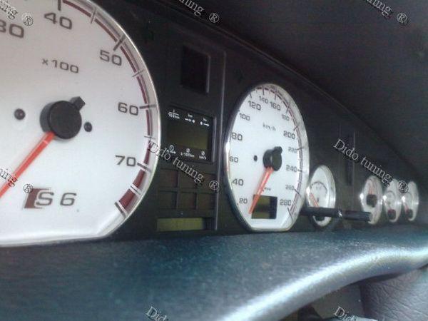 Кольца в щиток AUDI 100 / A6 C4 (1990-1997) 7 шт