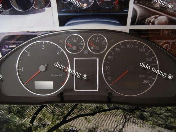 Кольца в щиток приборов AUDI A4 B5 (94-00) 4 кольца + рамка