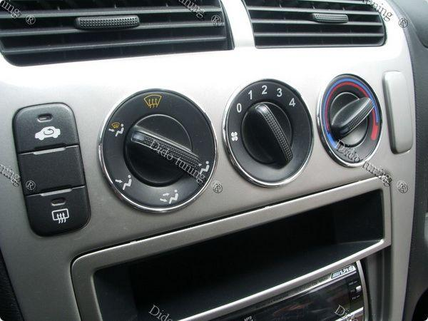 Кольца на ручки печки HONDA Civic VII (2001-2006)