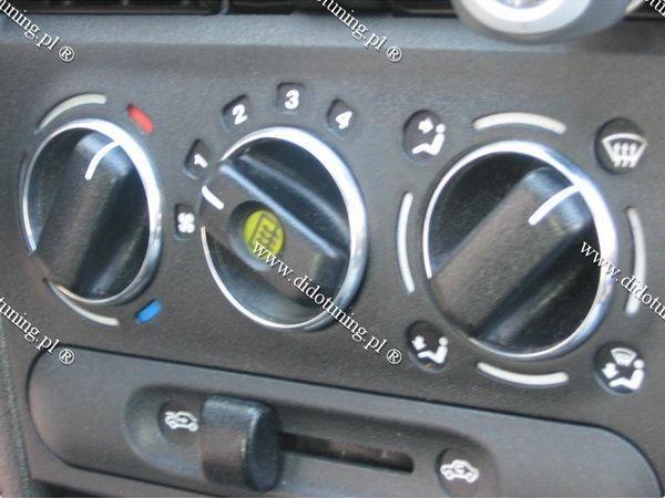 Кольца на ручки печки OPEL Corsa B (93-00)