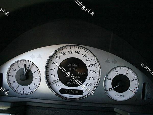 Кольца в щиток приборов MERCEDES W211 1