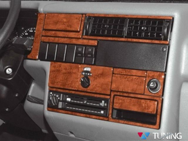Накладки на торпедо VW T4 Transporter (1990-1995) дерево