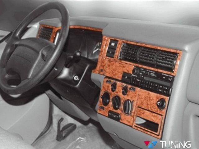 Накладки на панель VW T4 (1996-1998)