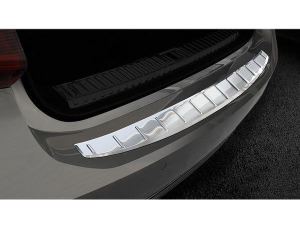 Стальная накладка на задний бампер AUDI A7 C8 Sportback - Avisa 5