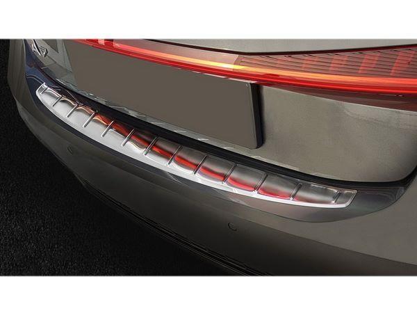Стальная накладка на задний бампер AUDI A7 C8 Sportback - Avisa 6