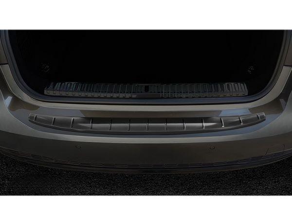 Чёрная накладка на задний бампер AUDI A7 C8 Sportback - Avisa 4